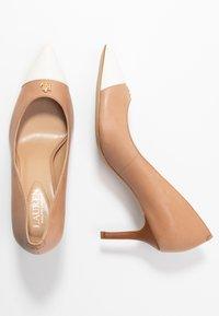 Lauren Ralph Lauren - SUPER SOFT LANETTE - Classic heels - nude/vanilla/deep - 3