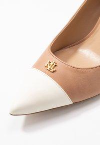 Lauren Ralph Lauren - SUPER SOFT LANETTE - Classic heels - nude/vanilla/deep - 2