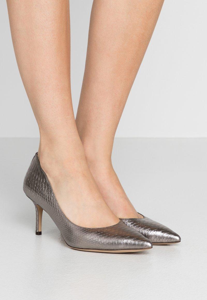 Lauren Ralph Lauren - LANETTE - Klasické lodičky - silver