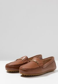 Lauren Ralph Lauren - BRIONY - Slippers - deep saddle tan - 4