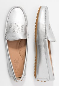 Lauren Ralph Lauren - METALLIC BARTLETT - Mocassins - bright silver - 3