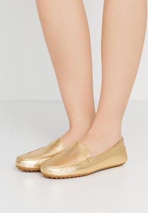 METALLIC BARTLETT - Moccasins - gold