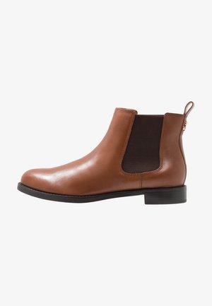 SIGNATURE HAANA - Ankle boots - deep saddle tan