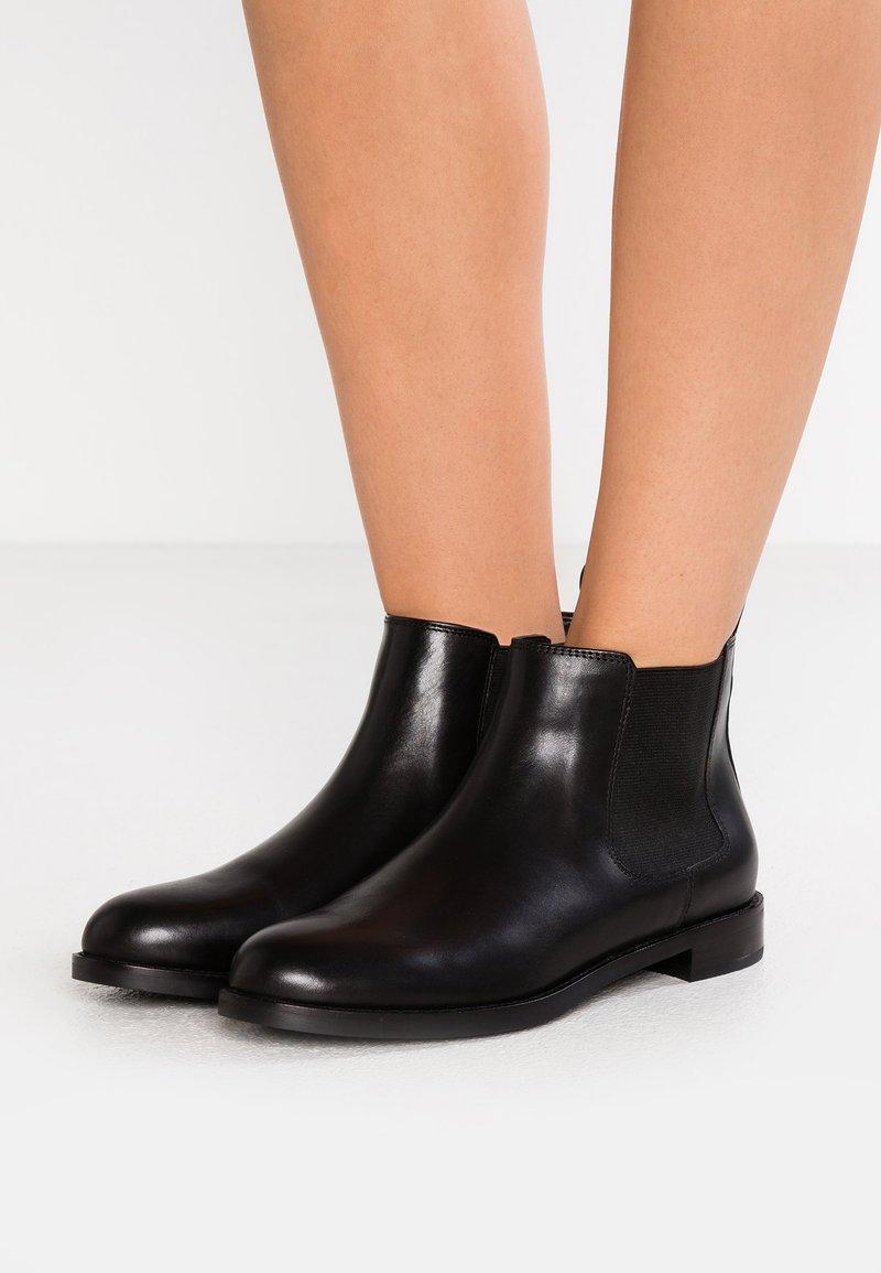 Lauren Ralph Lauren - SIGNATURE HAANA - Ankelboots - black