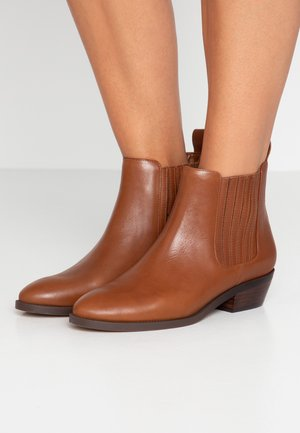 ERICKA - Ankle boots - deep saddle tan