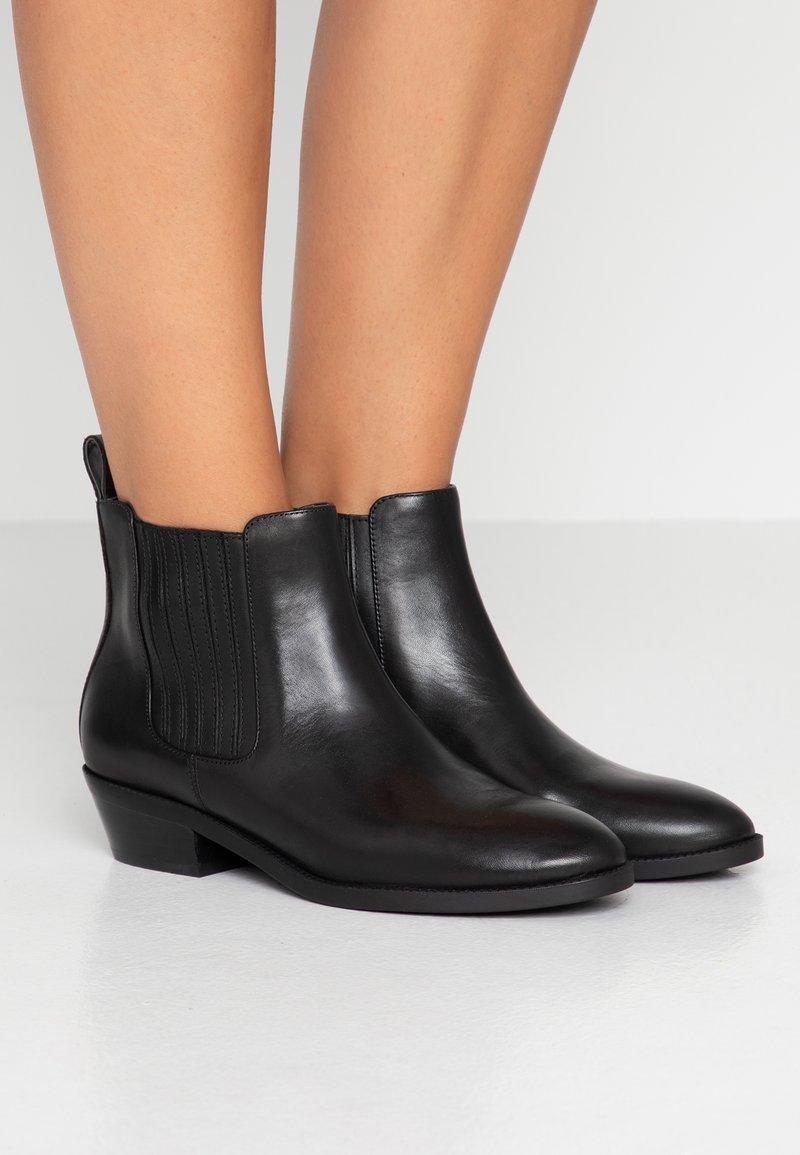 Lauren Ralph Lauren - ERICKA - Boots à talons - black