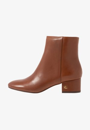 WELFORD - Botki - deep saddle tan