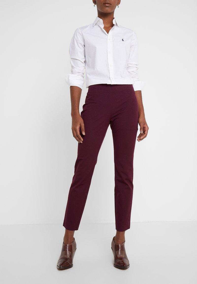 Lauren Ralph Lauren - PANT - Pantalones - pinot noir