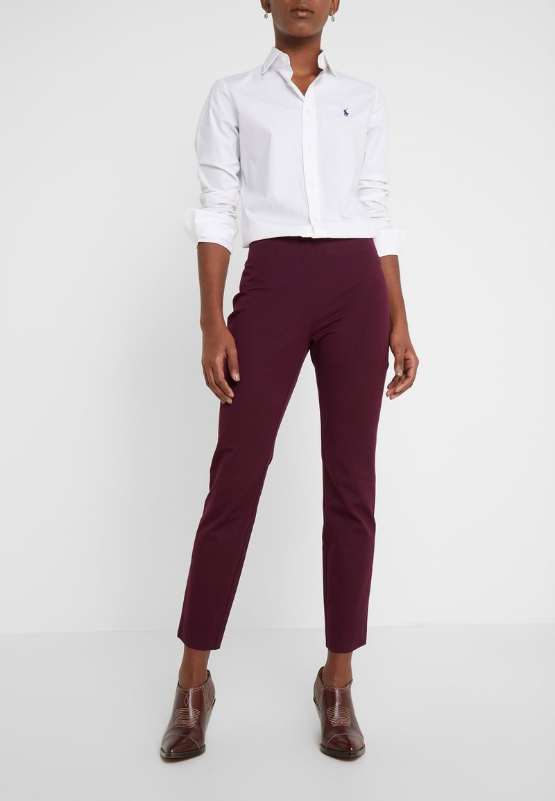 Lauren Ralph Lauren - PANT - Trousers - pinot noir