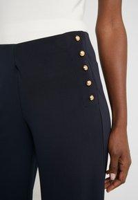 Lauren Ralph Lauren - MATTE PANT - Trousers - navy - 4