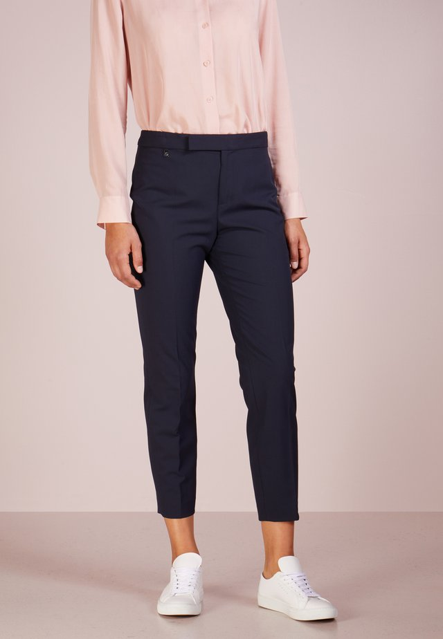 SUITING  PANT - Tygbyxor - navy