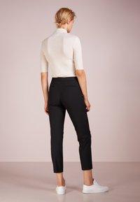 Lauren Ralph Lauren - SUITING  PANT - Trousers - black - 2