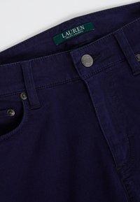 Lauren Ralph Lauren - WASHED PANT - Trousers - navy - 5