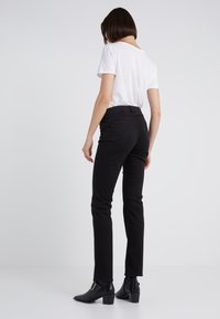 Lauren Ralph Lauren - WASHED PANT - Trousers - black - 2