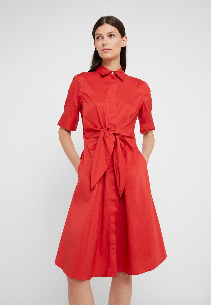Lauren Ralph Lauren - Shirt dress - canyon red