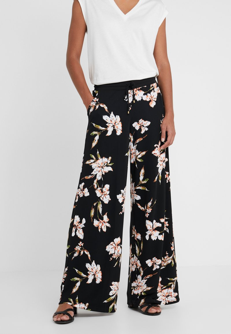 Lauren Ralph Lauren - Pantaloni - black/multi