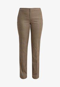 Lauren Ralph Lauren - REFINED SUITING - Pantaloni - brown/tan multi - 3