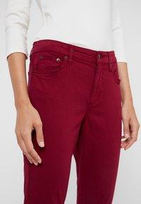 Lauren Ralph Lauren - WASHED PANT - Trousers - dark raspberry - 3