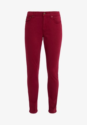 WASHED PANT - Pantaloni - dark raspberry