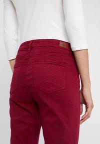 Lauren Ralph Lauren - WASHED PANT - Trousers - dark raspberry - 5