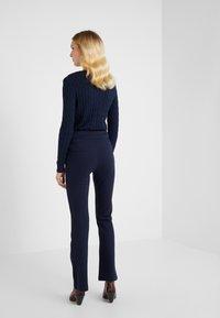 Lauren Ralph Lauren - MODERN PONTE PANT - Trousers - lauren navy - 2
