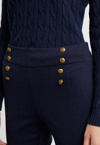 Lauren Ralph Lauren - MODERN PONTE PANT - Trousers - lauren navy - 4