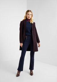 Lauren Ralph Lauren - MODERN PONTE PANT - Trousers - lauren navy - 1