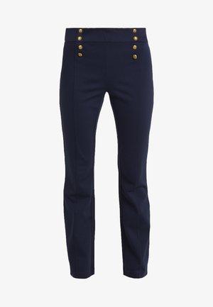 MODERN PONTE PANT - Pantaloni - lauren navy