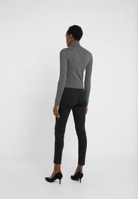 Lauren Ralph Lauren - MODERN PONTE PANT - Leggings - black - 2