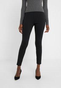 Lauren Ralph Lauren - MODERN PONTE PANT - Leggings - black - 0