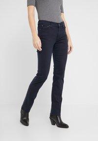 Lauren Ralph Lauren - WASHED PANT - Pantalones - lauren navy - 0