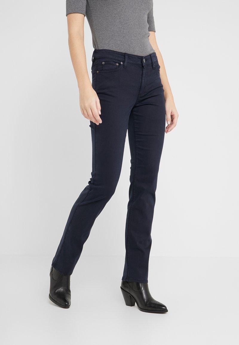 Lauren Ralph Lauren - WASHED PANT - Pantalones - lauren navy
