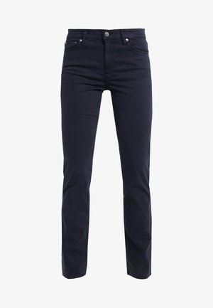WASHED PANT - Pantalon classique - lauren navy