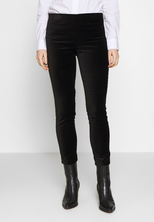 SOFT PANT - Trousers - polo black
