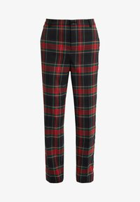 Lauren Ralph Lauren - NOVEL SUITING PANT - Spodnie materiałowe - black/red - 3