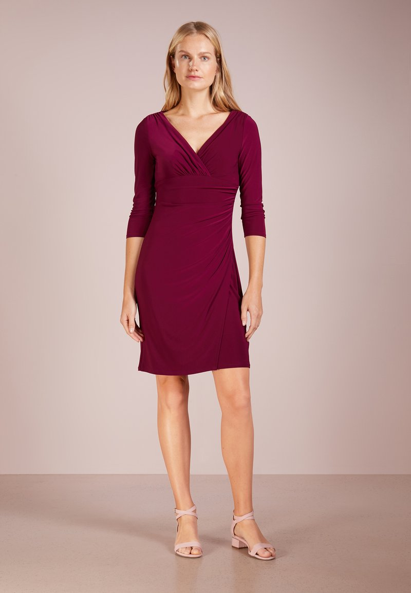 Lauren Ralph Lauren - Robe fourreau - exotic ruby