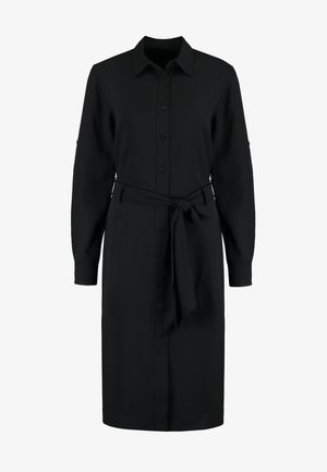 TRIPLE GEORGETTE - Shirt dress - black