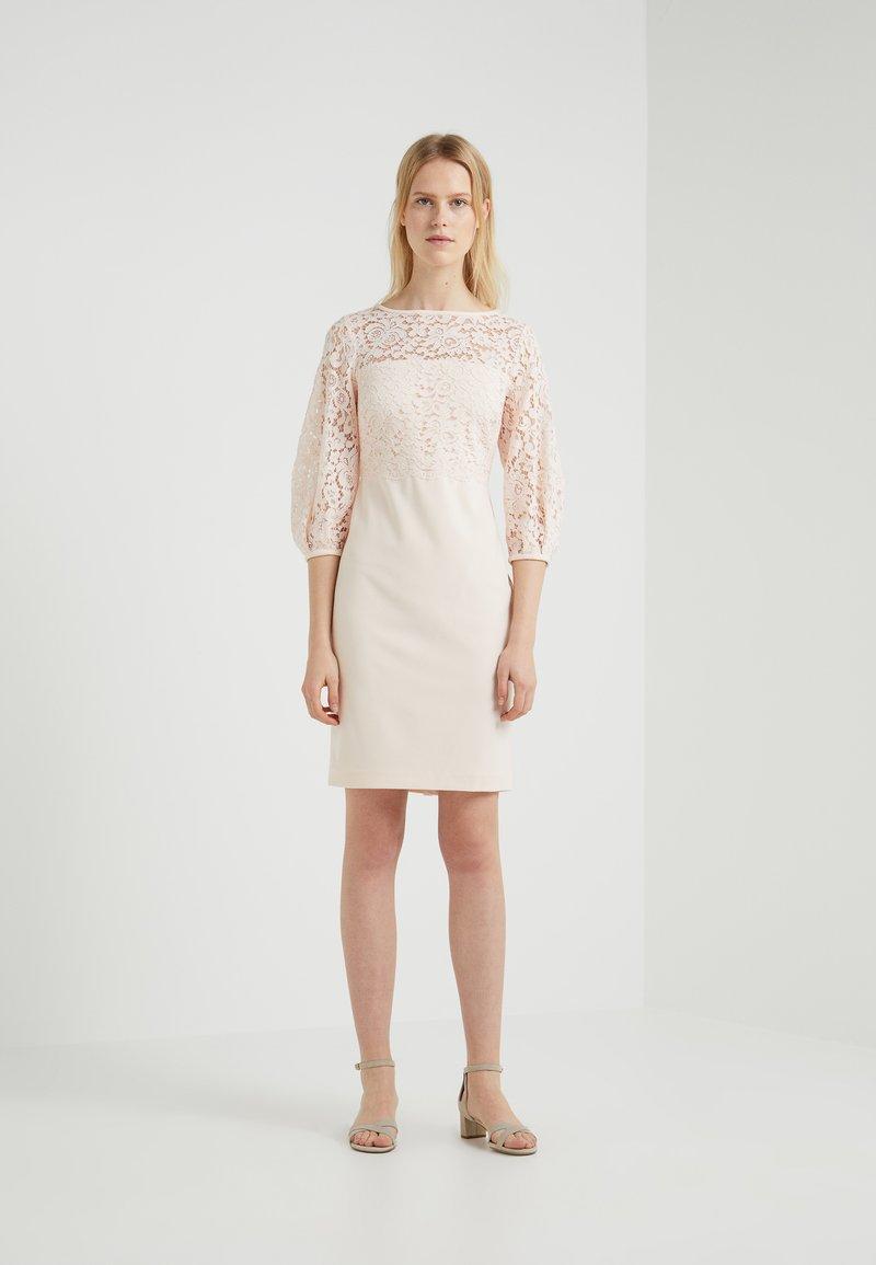 Lauren Ralph Lauren - CLAIRE - Shift dress - belle rose/wheat