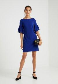 Lauren Ralph Lauren - LUXE TECH SILVANA - Sukienka z dżerseju - parisian blue - 1