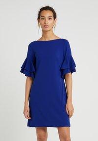 Lauren Ralph Lauren - LUXE TECH SILVANA - Sukienka z dżerseju - parisian blue - 0