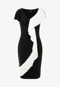 Lauren Ralph Lauren - SAMSON  - Etui-jurk - black/white - 3