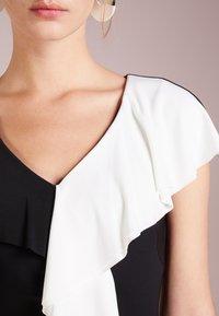 Lauren Ralph Lauren - SAMSON  - Etui-jurk - black/white - 4