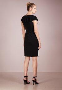 Lauren Ralph Lauren - SAMSON  - Etui-jurk - black/white - 2