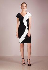 Lauren Ralph Lauren - SAMSON  - Etui-jurk - black/white - 1