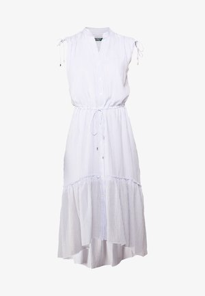 VOILE DRESS - Maxikleid - blue/white