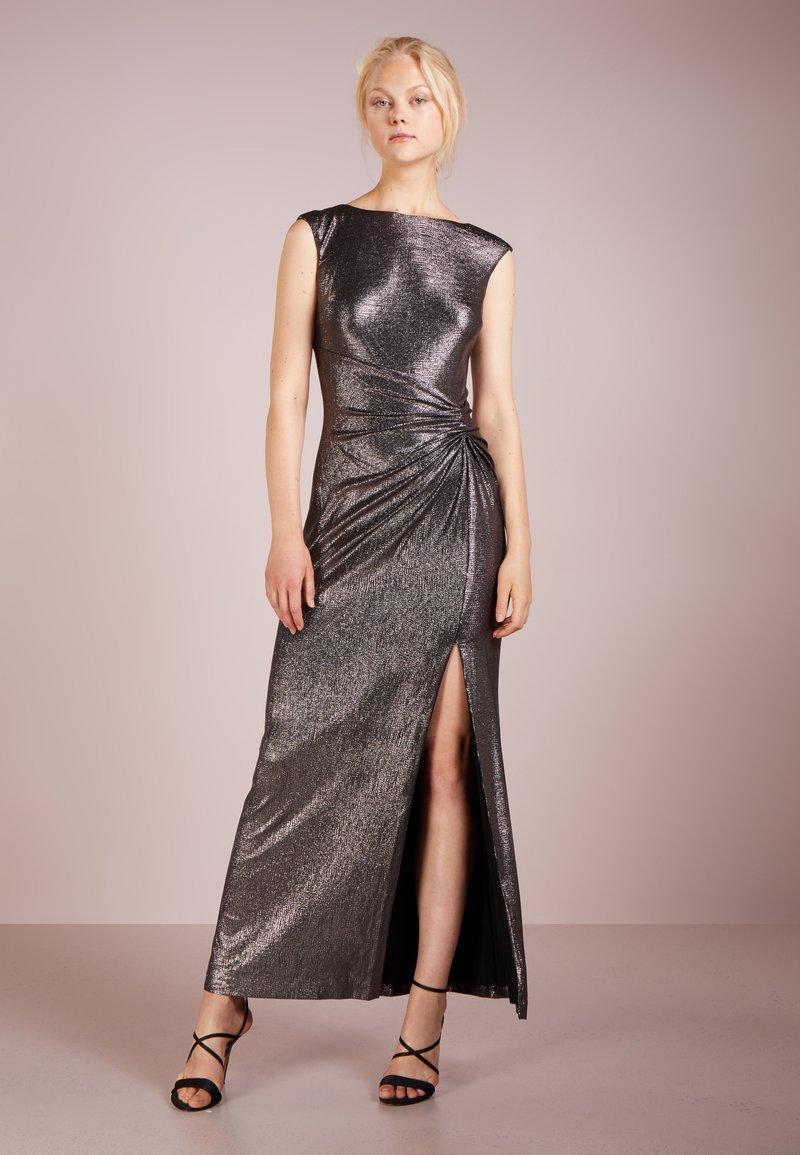 Lauren Ralph Lauren - GLISTENING ILIANNE - Společenské šaty - black/gunmetal