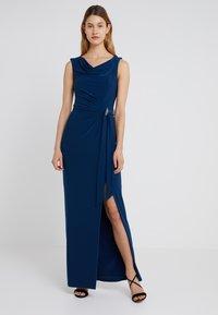 Lauren Ralph Lauren - SHAYLA  TRIM - Maxi šaty - luxe bryl - 0