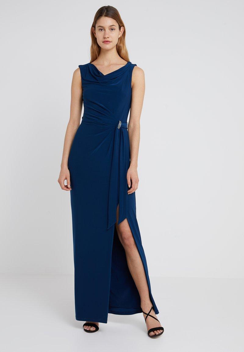Lauren Ralph Lauren - SHAYLA  TRIM - Maxi šaty - luxe bryl