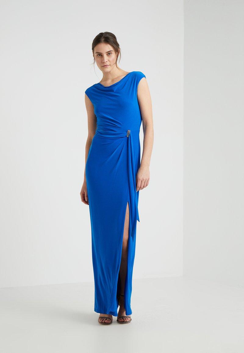Lauren Ralph Lauren - SHAYLA  TRIM - Maxi dress - portuguese blue