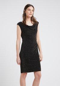 Lauren Ralph Lauren - STAR DUST LOVELLA - Koktejlové šaty/ šaty na párty - black/gold - 0